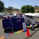 Brackett Field Aircraft Display and Car Show in La Verne